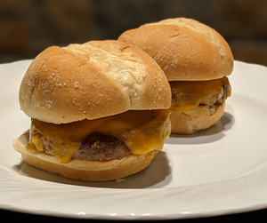 Cheeseburger Sliders (3 Sliders)