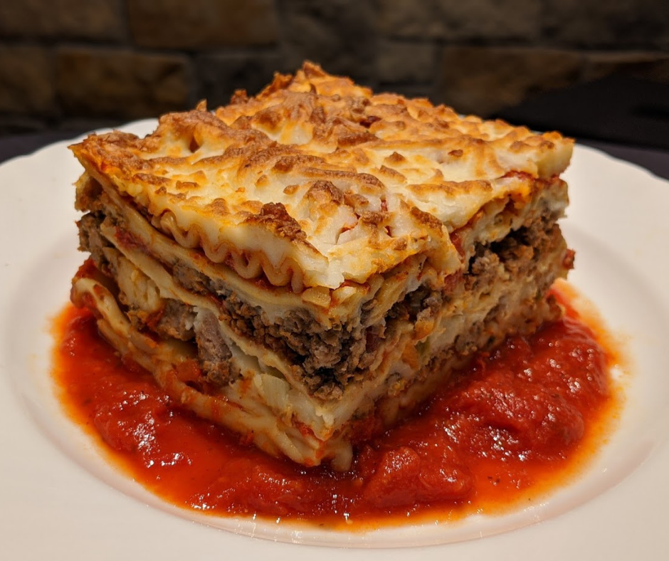 Homemade Meat Lasagna (Price/Person)