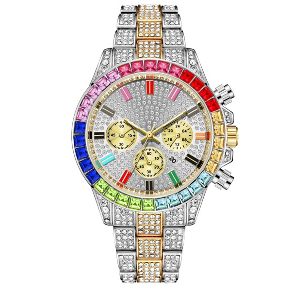 Shine Bright Watch (Multicolour)