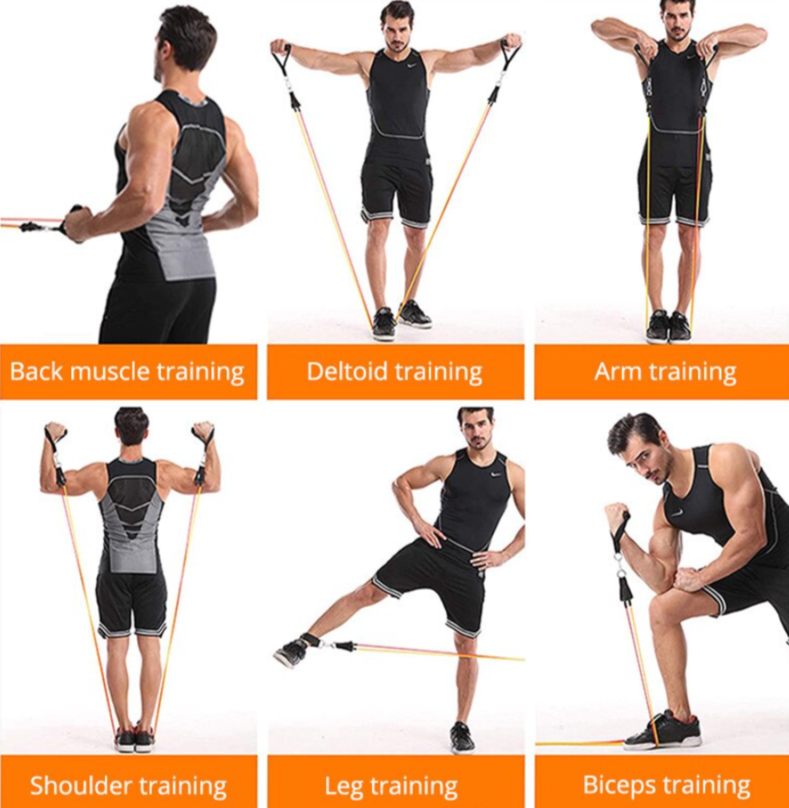 Resistance Bands 11 Piece Set