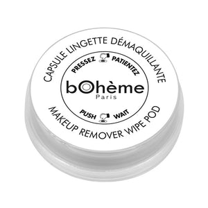 Makeup remover <br/>wipes pods