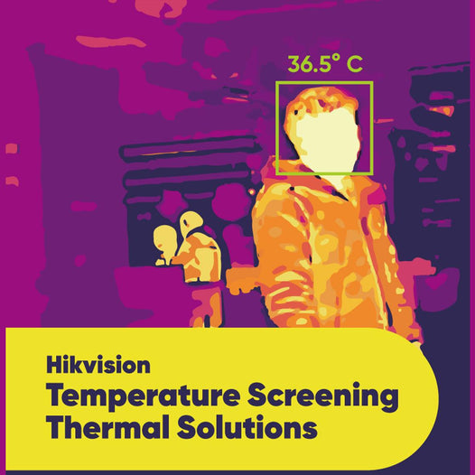 Hikvision Temperature Screening Thermal Camera Solutions