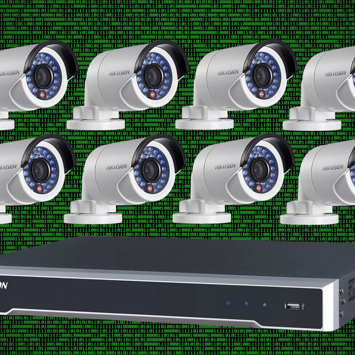 How many IP cameras can my network handle?