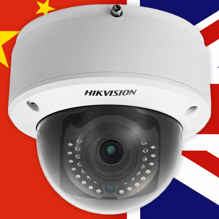 What are the risks with Grey Market CCTV cameras?
