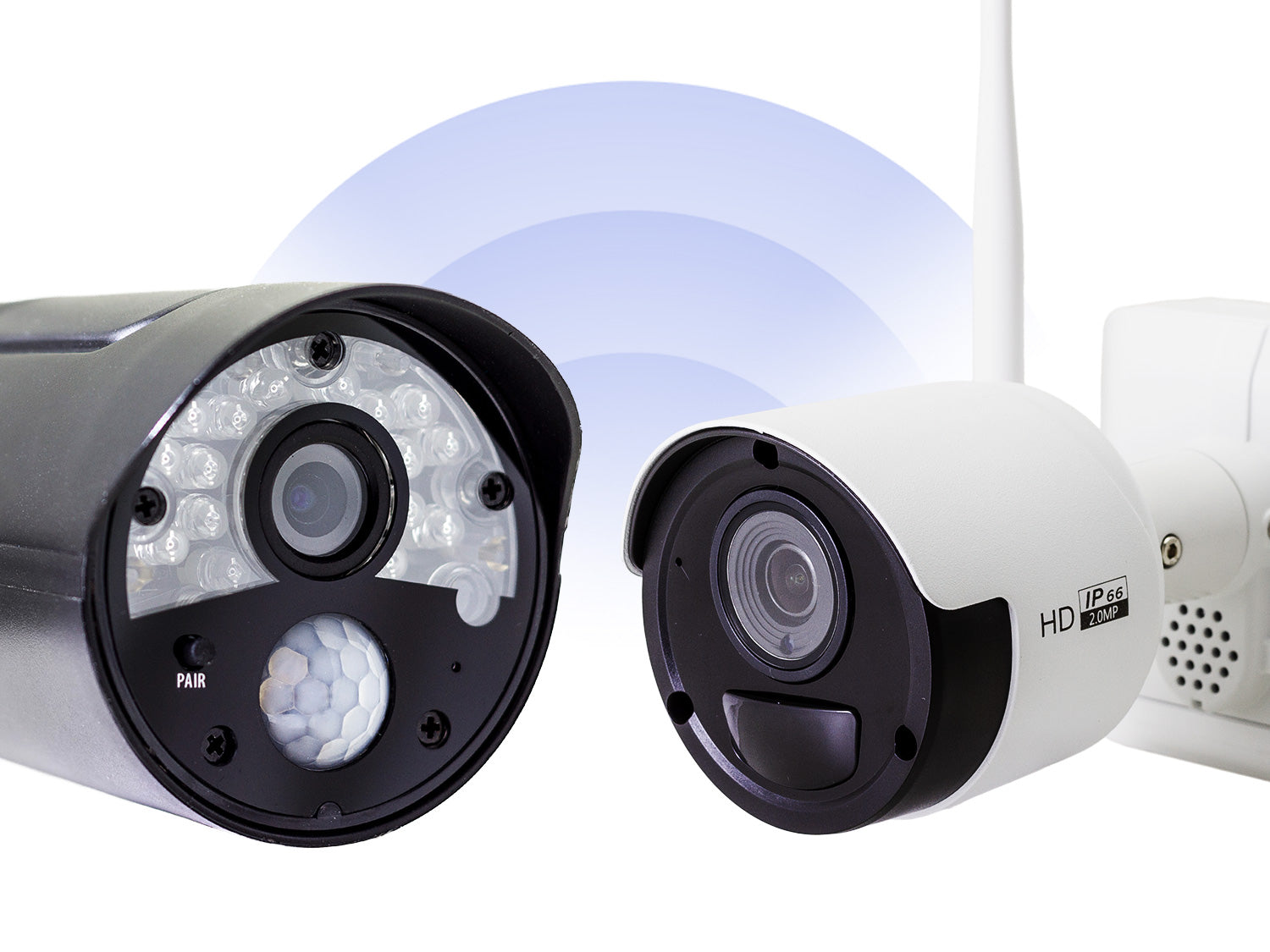 Wireless vs Wire Free CCTV – What's the difference?