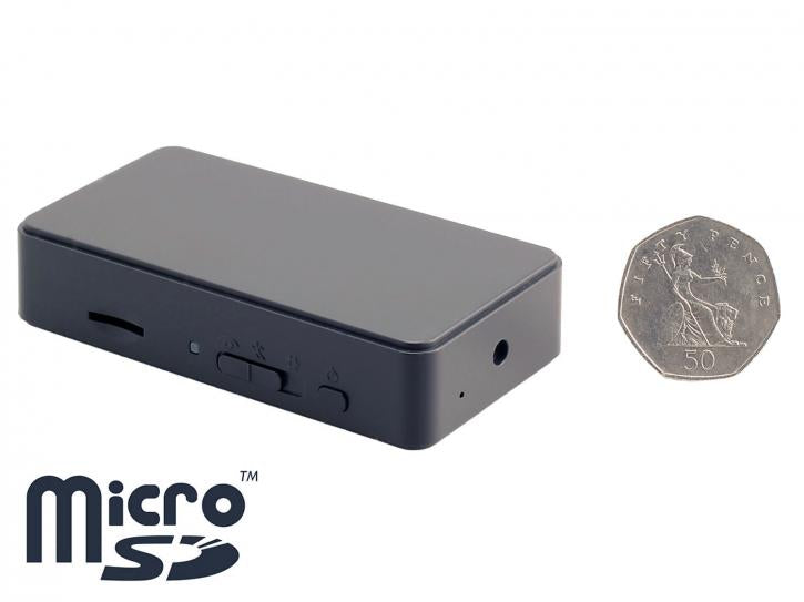 Mini Battery-Powered Pinhole Spy Camera with Motion Detection 720p HD - SpyCameraCCTV