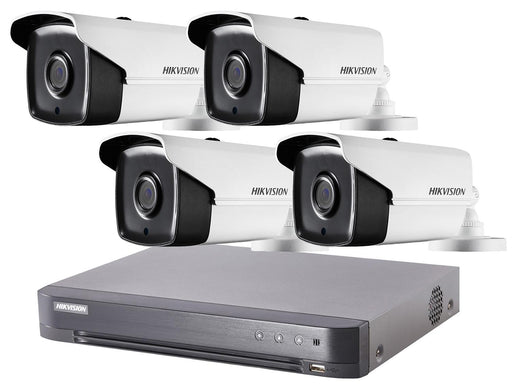 4 Camera Hikvision TVI 1080p HD CCTV System with 40m IR and PoC DVR - SpyCameraCCTV