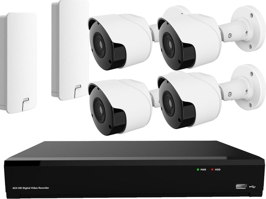 Long Range Wireless Lambing Camera System 4 1080p HD IP Cameras & NVR - SpyCameraCCTV
