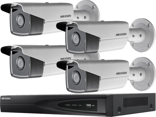 Hikvision 4 Camera 4MP IP CCTV System with 50m Night Vision - SpyCameraCCTV