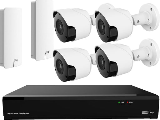 Wireless Barn Camera Kit with DVR 1080p HD TVI 3km Range - SpyCameraCCTV
