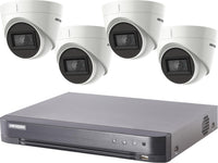 Hikvision Turbo HD 8MP CCTV system with 4 Turret Cameras - SpyCameraCCTV