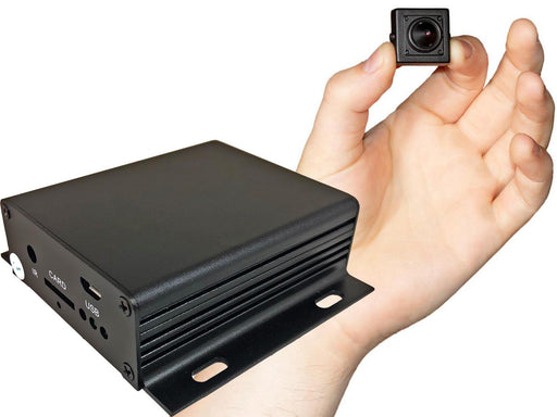 Low Light Tiny Pinhole Spy Camera Recorder Kit - SpyCameraCCTV