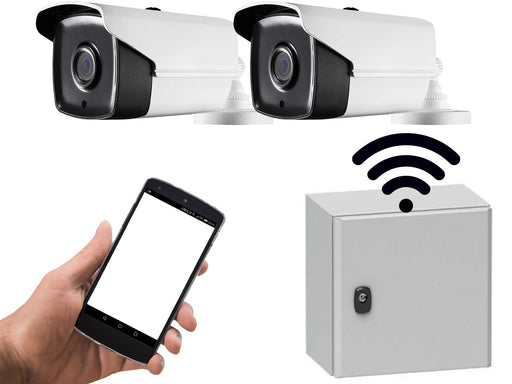 2 Camera 4G Wireless Remote Site CCTV System - SpyCameraCCTV