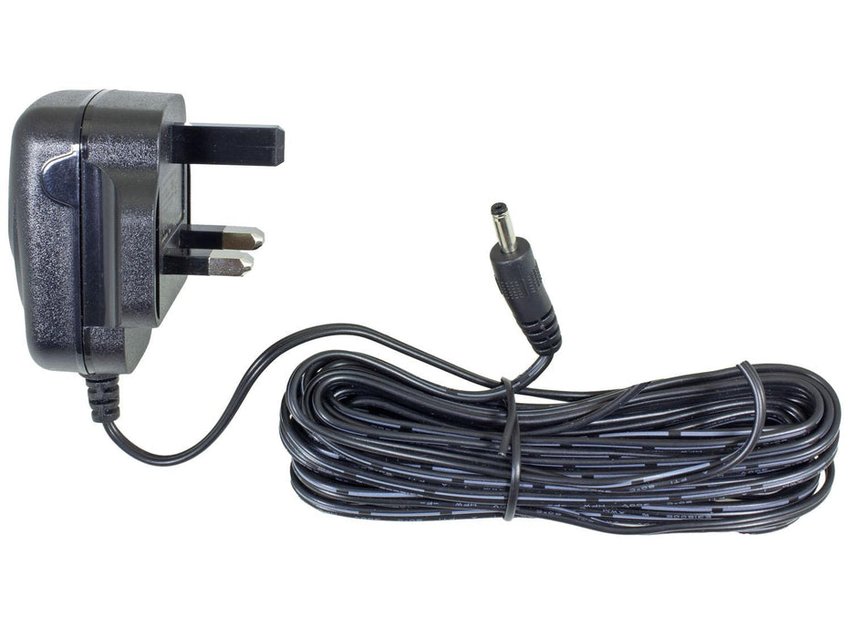 9V DC 600mA UK Power Supply 1.3mm Jack - SpyCameraCCTV
