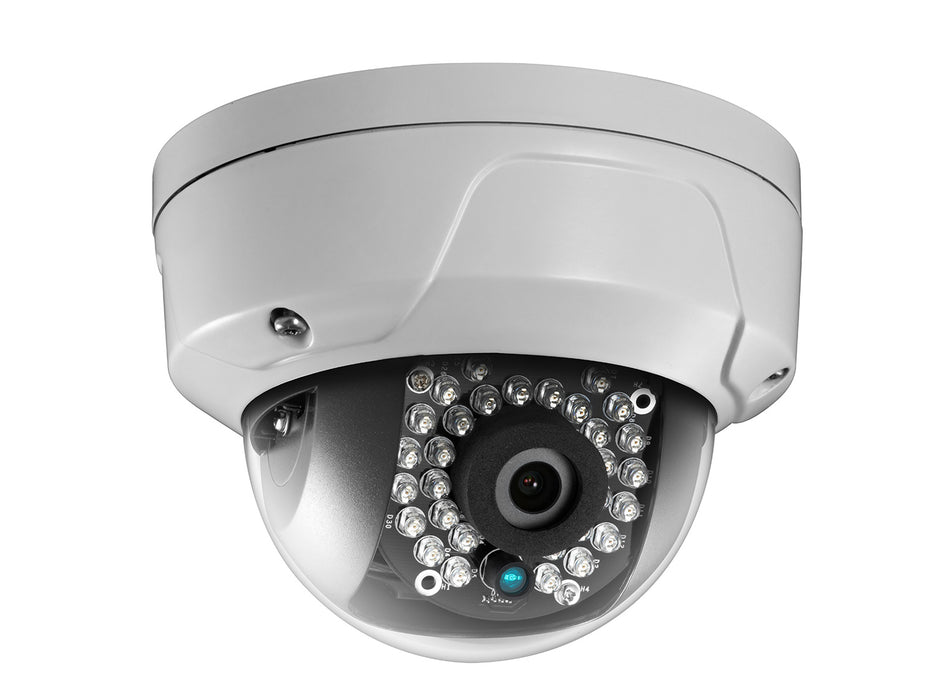 HiWatch 1080p 2MP IP Dome CCTV Camera with 30m Night Vision