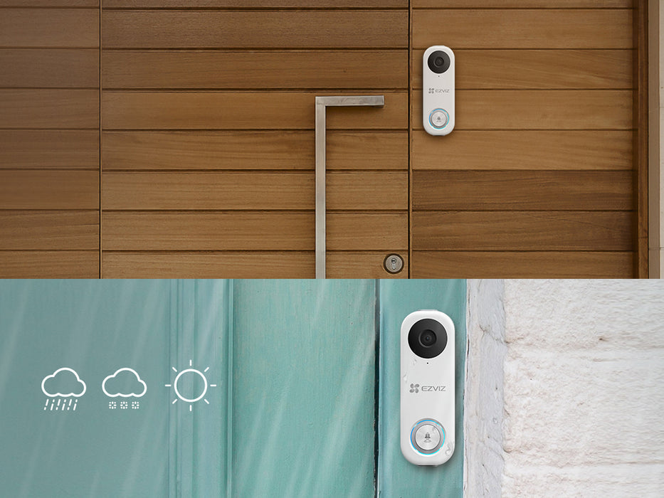 EZVIZ 1080p Full HD Smart Video Doorbell WiFi Camera