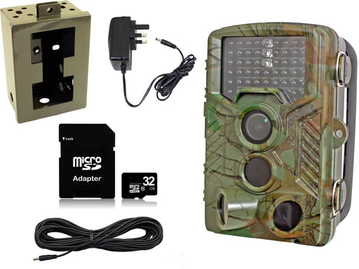 Waterproof Trail Wildlife HD Camera Bundle Pack - SpyCameraCCTV