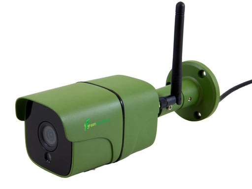Green Feathers WiFi Bullet Waterproof Wildlife 1080p HD Camera - SpyCameraCCTV