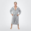 Men's Hooded Sweatshirt Robe - ComfyRobes.com