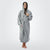 Women's Hooded Sweatshirt Robe