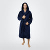 Men's 20 oz. Deluxe Turkish Cotton Hooded Bathrobe - ComfyRobes.com