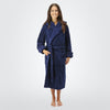 Women's 20 oz. Deluxe Turkish Cotton Hooded Bathrobe - ComfyRobes.com