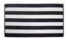 Premium Cabana Striped Terry Velour Beach Towel - ComfyRobes.com