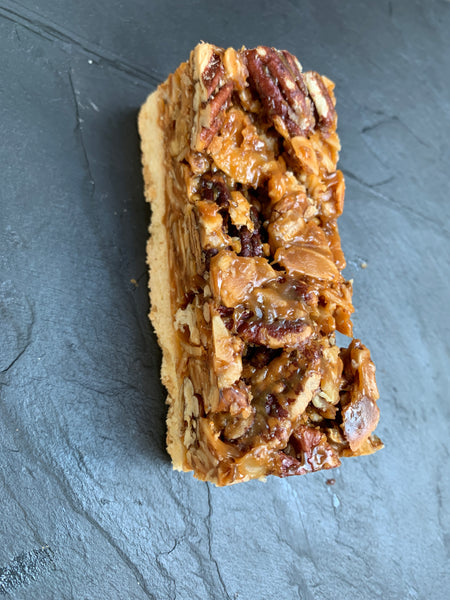 Nut Caramel Slice