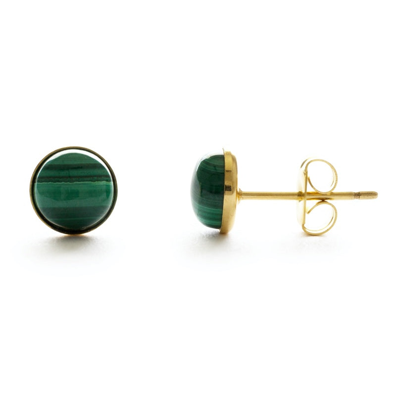 Amano 4mm Round Studs (Multiple Stones Available!)
