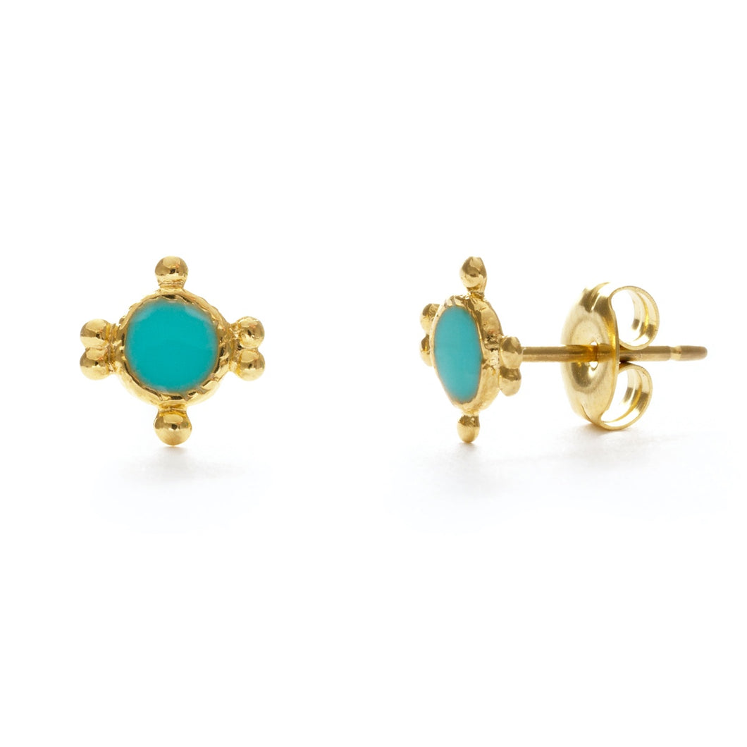Amano Miranda Studs (Multiple colors available!)