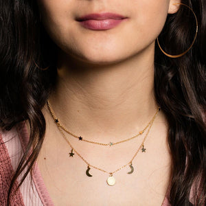 Amano Tiny Star Constellation Necklace