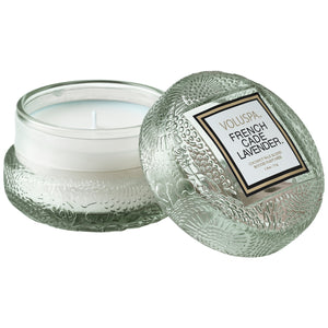 Voluspa Japonica Glass Macaron Candle