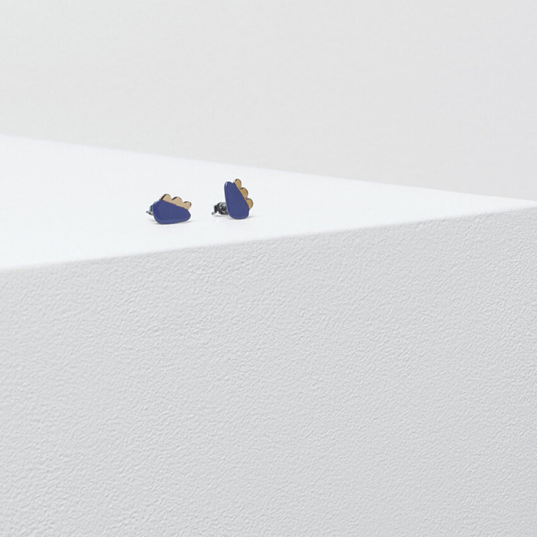 Elk Boulder Stud Earrings (Multiple Colors!)
