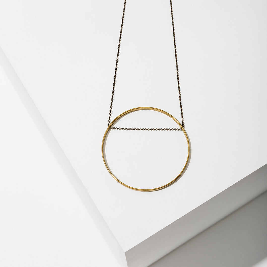 Larissa Loden Circle Horizon Necklace (Multiple Sizes!)