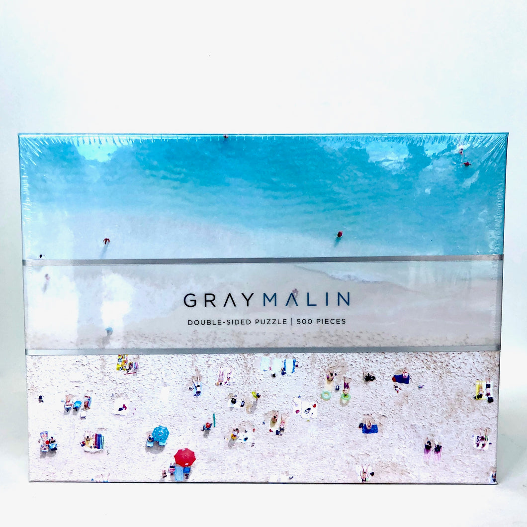 Graymalin Double-Sided Beach Puzzle