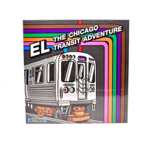 Load image into Gallery viewer, Transit Tees EL: The CTA Adventure Board Game