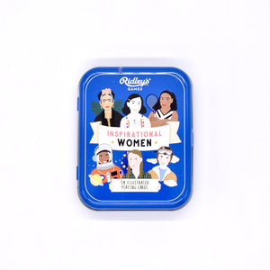 Inspirational Women Card Game