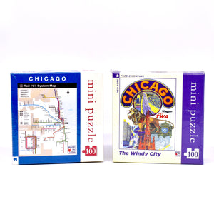 Mini 100 piece Chicago Puzzle