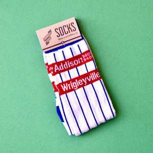 Transit Tees Addison Pin Stripe Socks (Multiple Sizes)