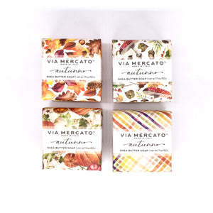 Via Mercato Mini Autumn Soap