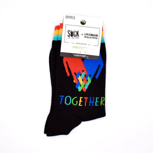 Sock It To Me Together Crew Socks