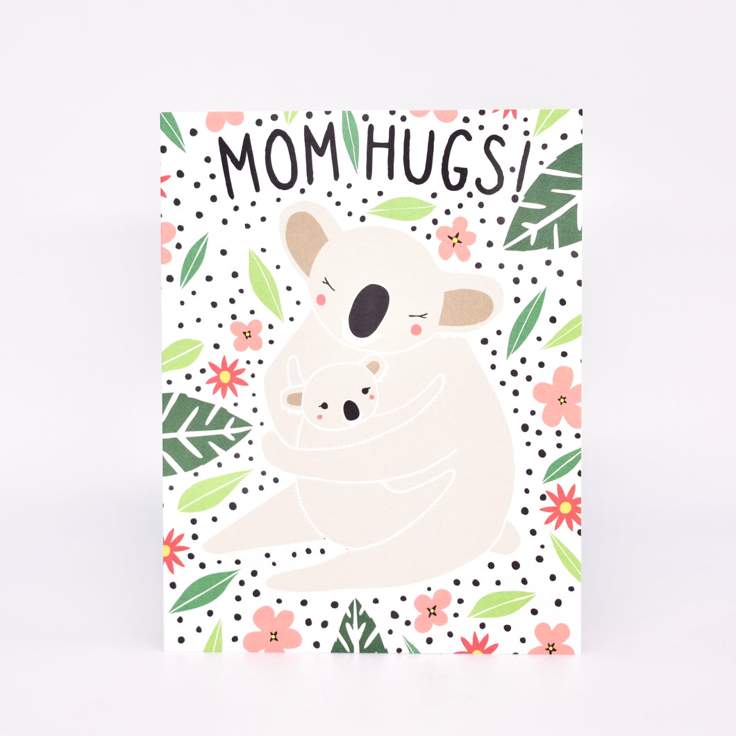 Mom Hugs Card
