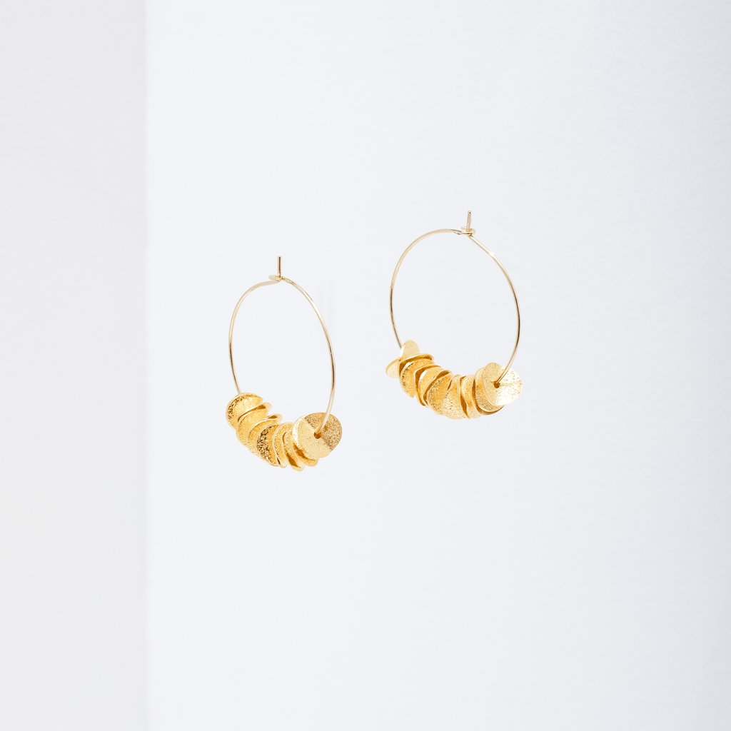 Larissa Loden Carmen Earrings in Gold