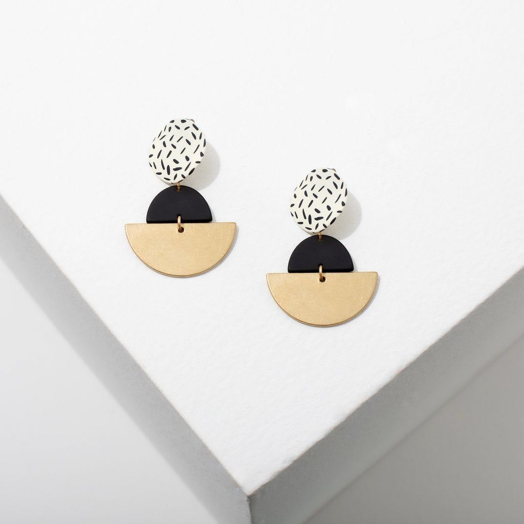 Larissa Loden Kiki Earrings in White