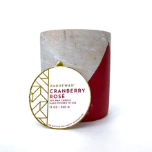 Load image into Gallery viewer, Paddywax 12 oz Concrete Candle (Multiple Scents)