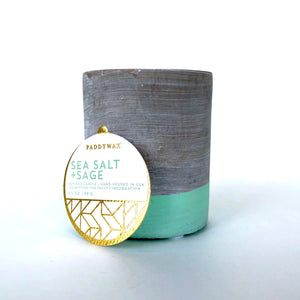 Paddywax 3.5 oz Concrete Candle (Multiple Scents)