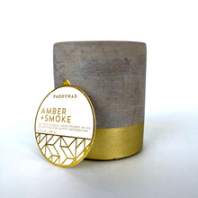 Load image into Gallery viewer, Paddywax 3.5 oz Concrete Candle (Multiple Scents)