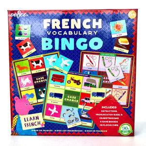 French Vocab Bingo