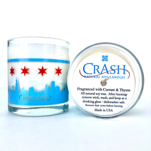 Crash Chicago Candle