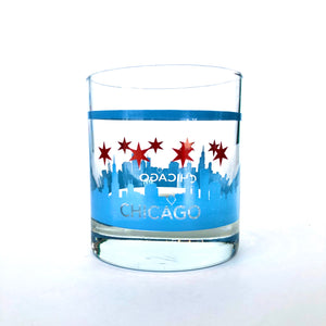 Crash Chicago Rocks Glass